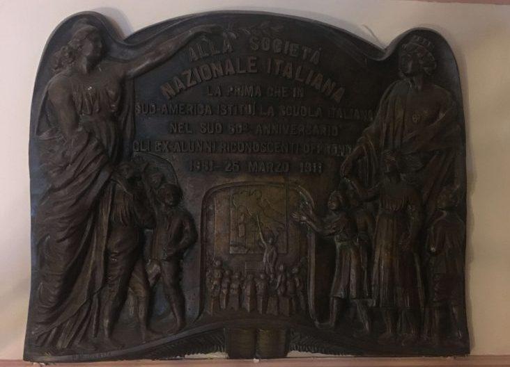 Targa commemorazione nazionale italiana