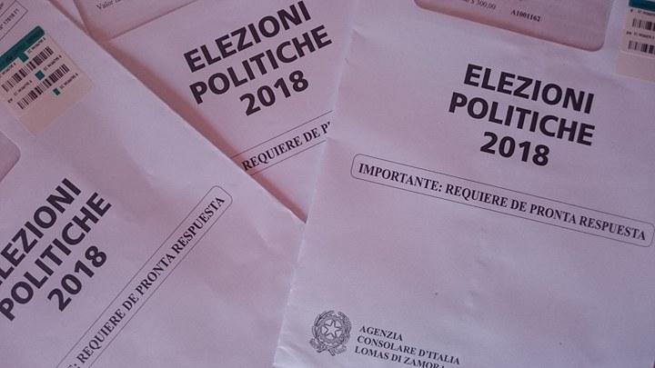 Tutti i cittadini italiani residenti all'estero potrano partecipare nelle elezioni.