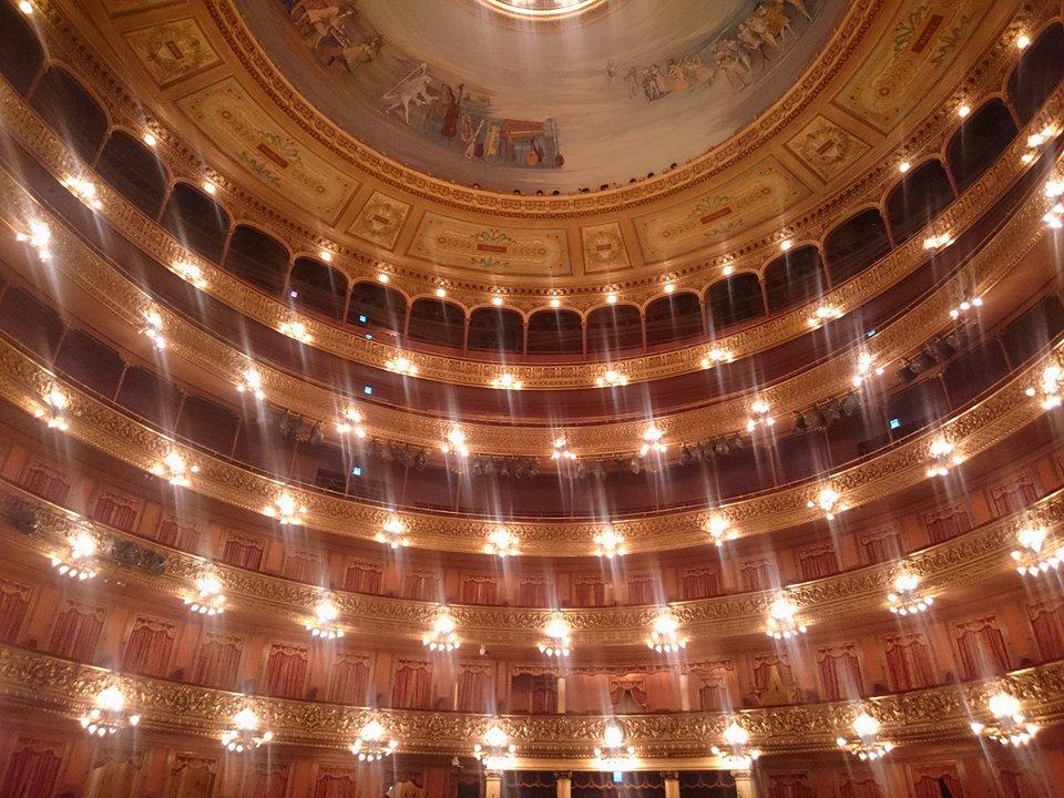 La restaurazione del teatro è stata finita nell'anno 2010