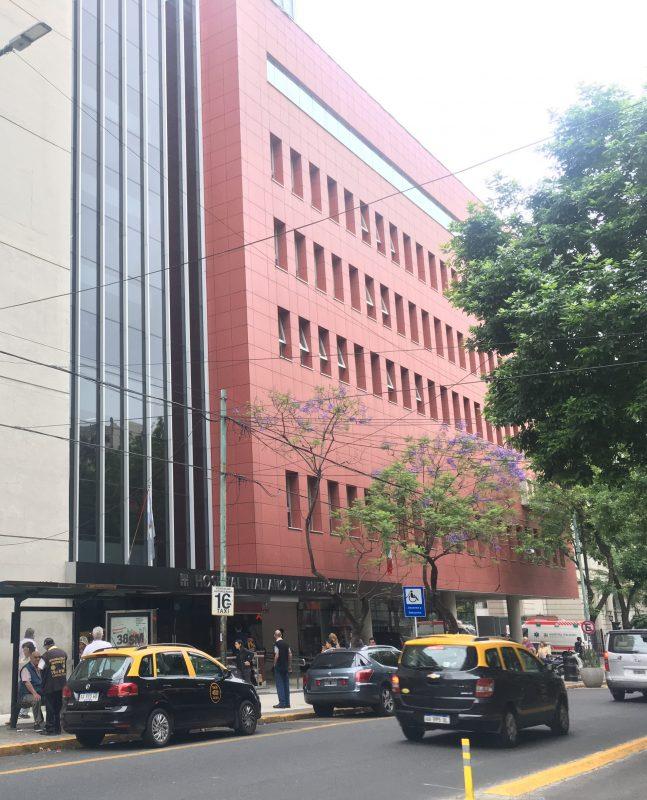 Nuovo padiglione Ospedale italiano di Buenos Aires