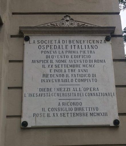 seconda edificazione dell'ospedale italiano di Buenos Aires