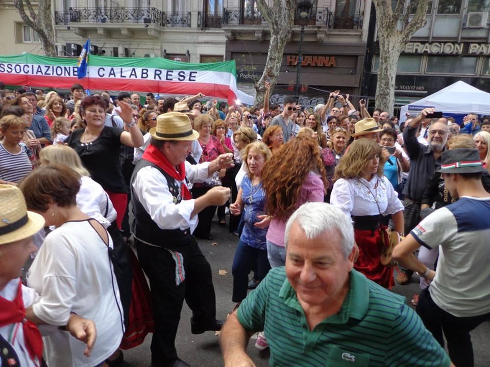 Buenos Aires celebra Calabria