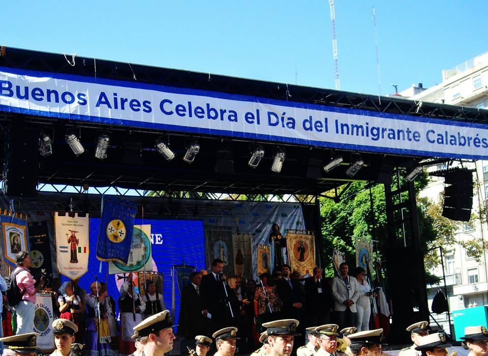 Buenos Aires celebra Calabria 2015.