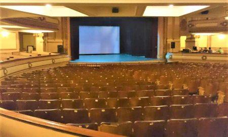Sala del Teatro Coliseo di Lomas de Zamora.