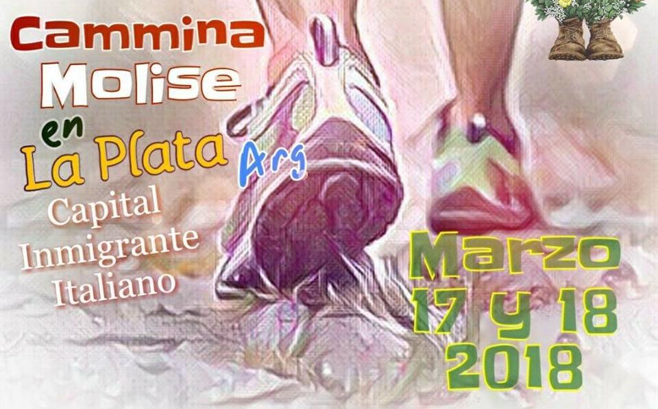 Camina Molise en Argentina 2018.
