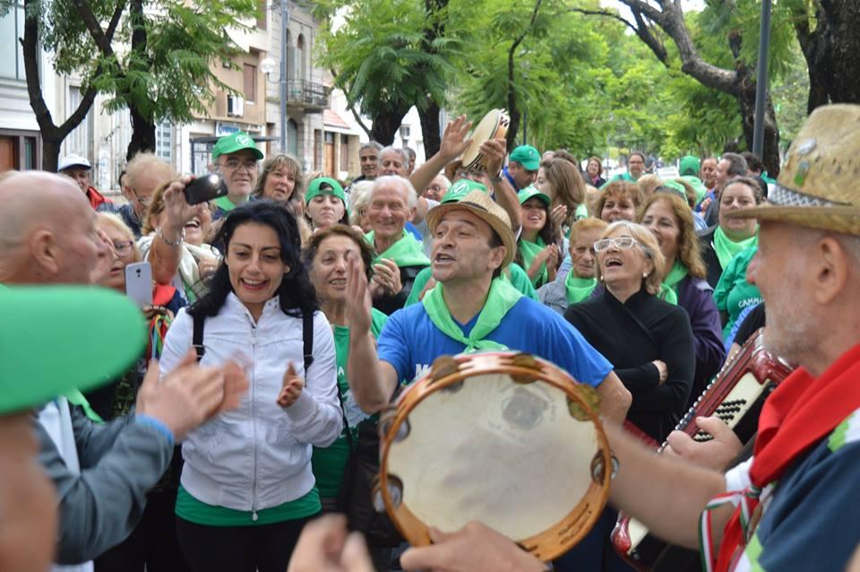Camina Molise 2018. Ciudad de La Plata.
