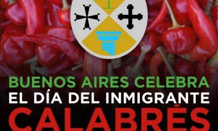 Día del inmigrante calabrés.