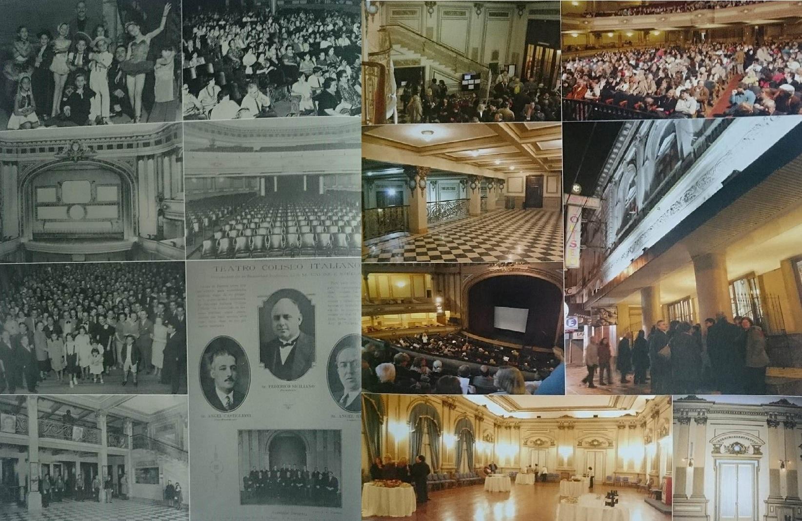 Il Teatro Coliseo di Lomas è un regalo degli italiani alla comunità di Buenos Aires. Teatro Coliseo di Lomas de Zamora.