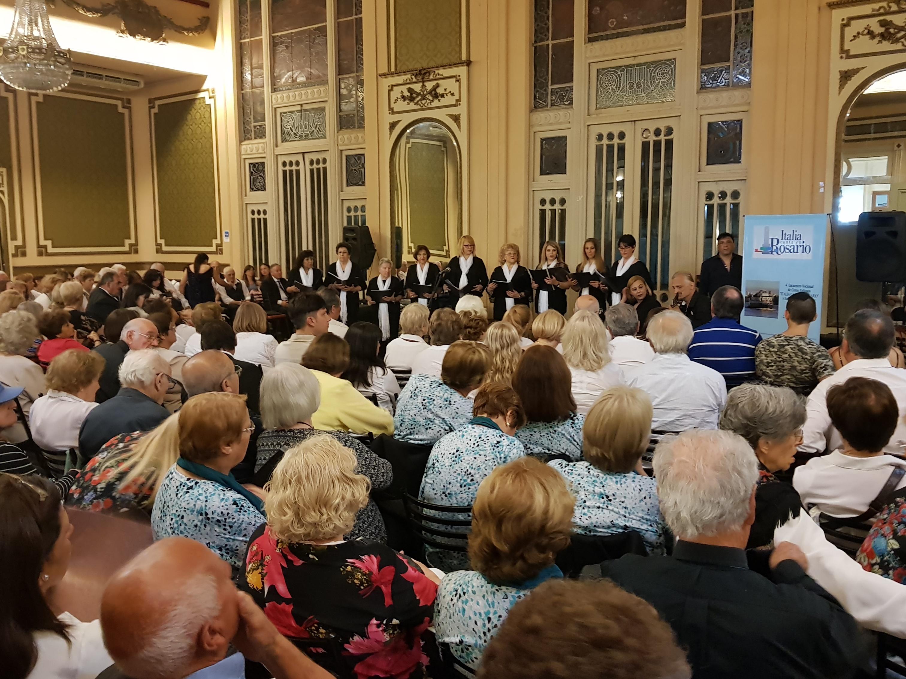 Italia canta cuenta con el respaldo de diversas asociaciones rosarinas.