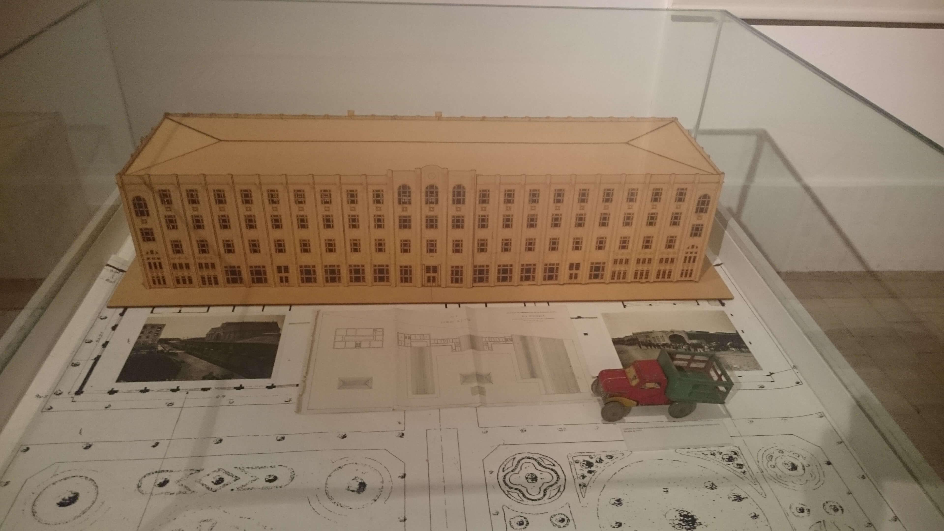 Estructura del Hotel de los Inmigrantes.