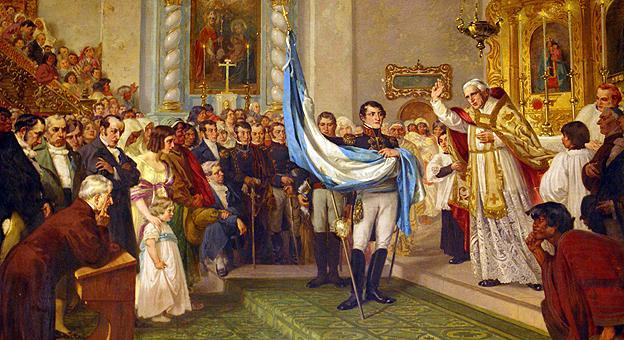 Benedizione della bandiera