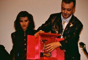 Enrico Ruggeri e Laura Pausini 1993