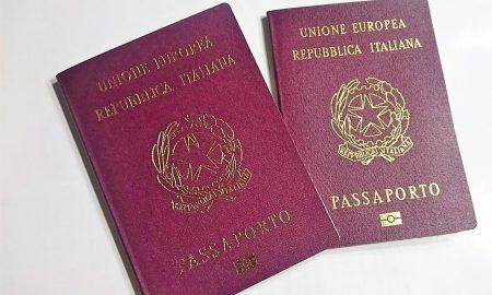 Información sobre pasaportes.