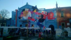 Facciata Centro Culturale Recoleta