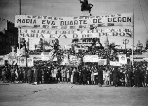 Avenida de Mayo manifestazione