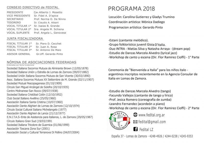 Festival Artístico Juvenil Ítalo-Argentino