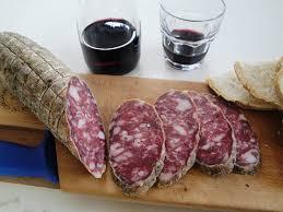 El salame típico italiano.