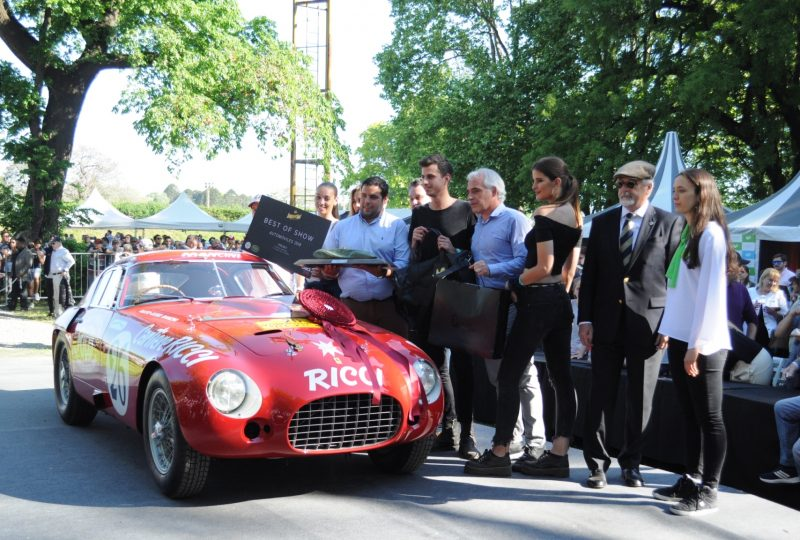 Ferrari modelo 340/375 MM premiada en Autoclásica