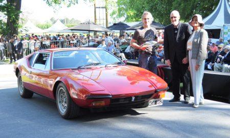 Premio Sopeña 2018 De Tomaso Pantera 1979