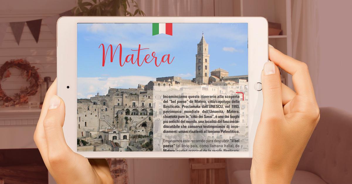 Italia Terra Mia una revista de cultura italiana.