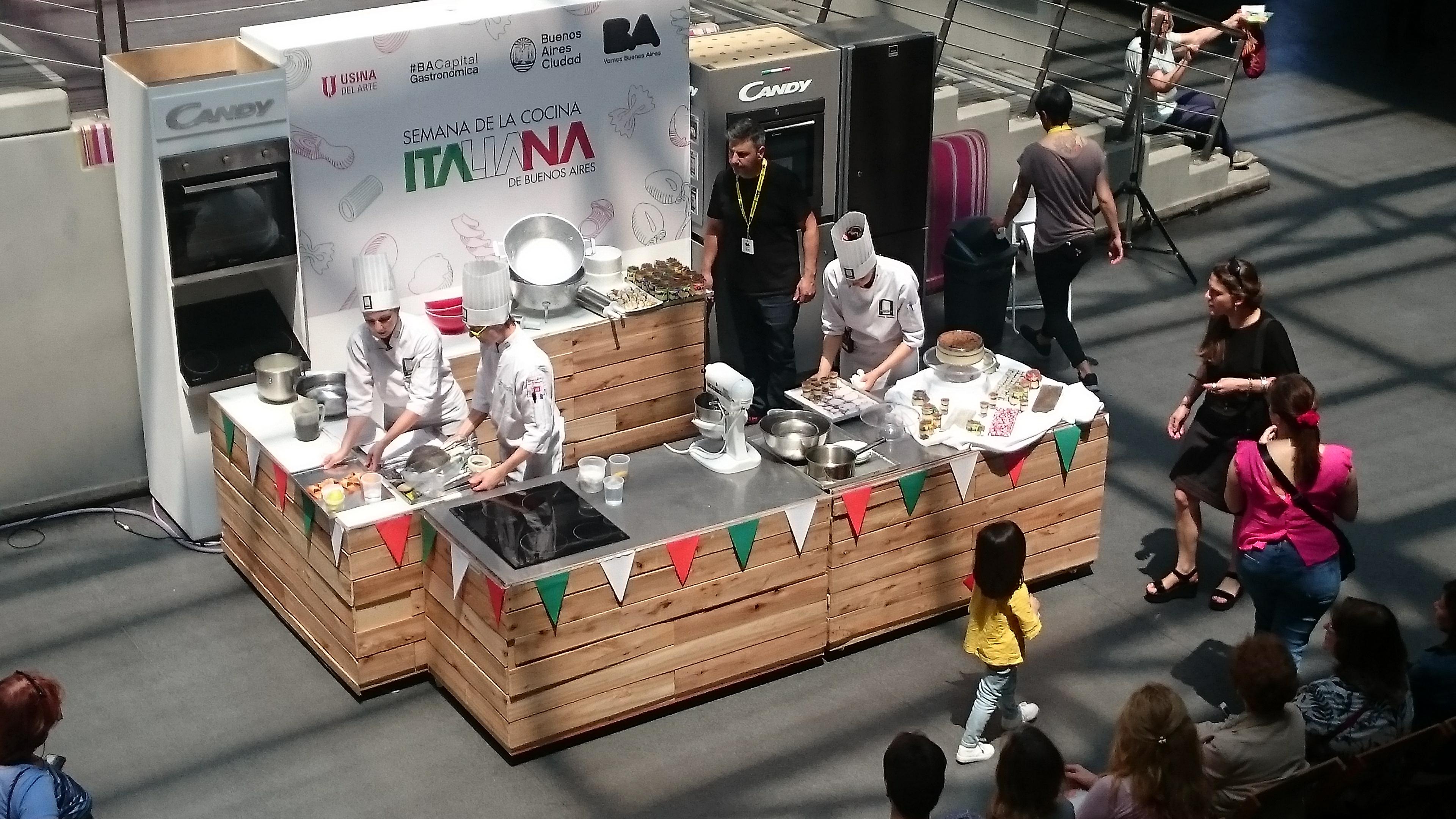 El gran cierre de la Semana de la Cocina Italiana en Buenos Aires.
