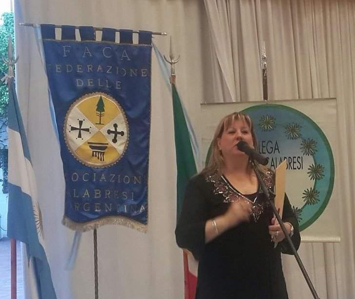 Cristina Borruto y su amor por Italia.