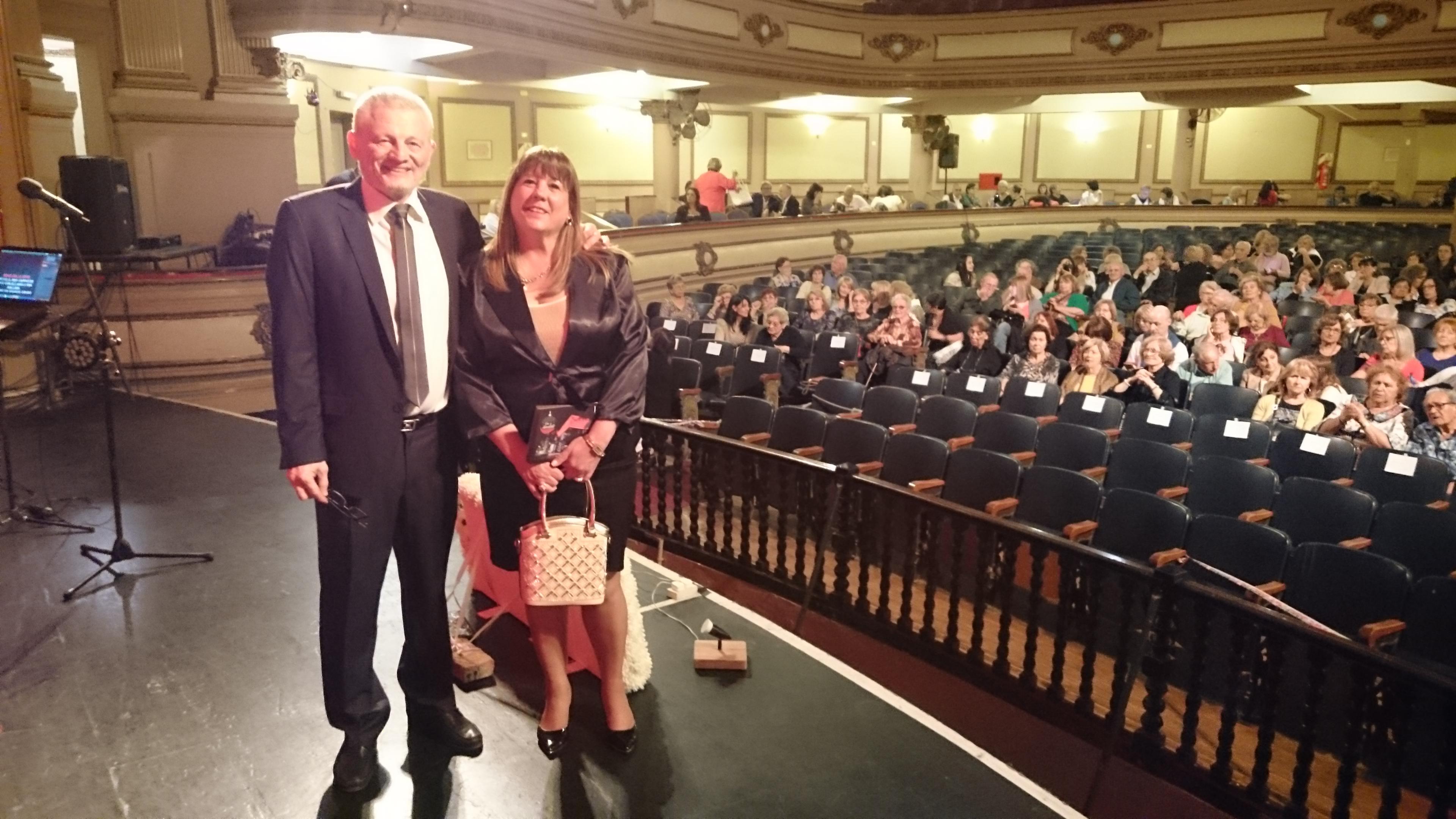 Cristina Borruto condujo el Segundo Concierto de Navidad de la colectividad italiana.