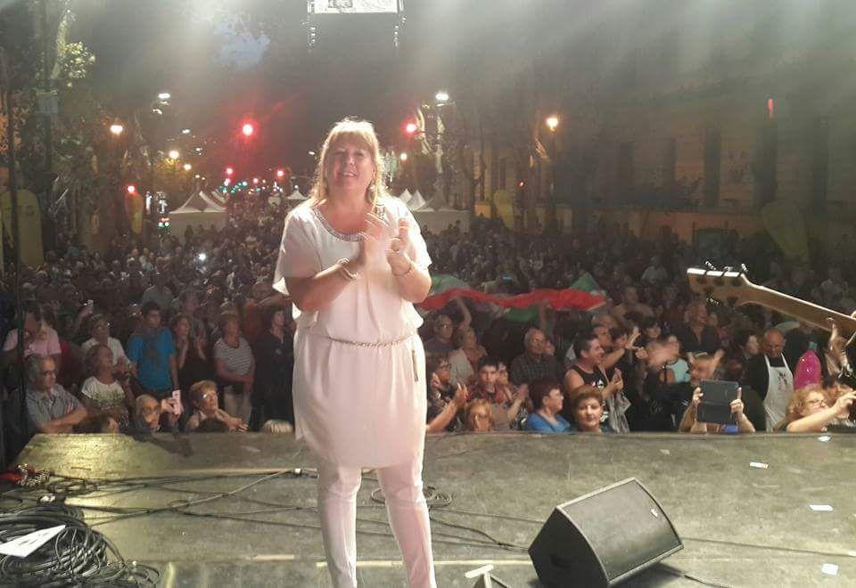 Cristina Borruto en el Buenos Aires Celebra.