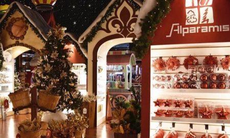 Una aldea navideña en Buenos Aires