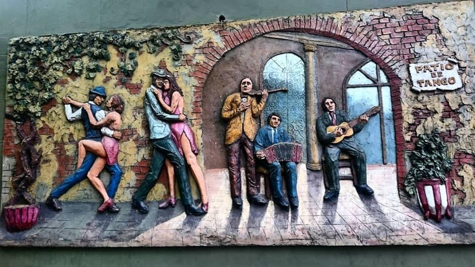 Mural De Tango