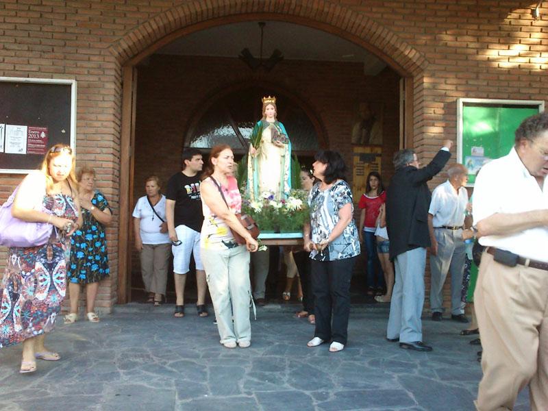 Celebración Santa Cristina Enero 2013.