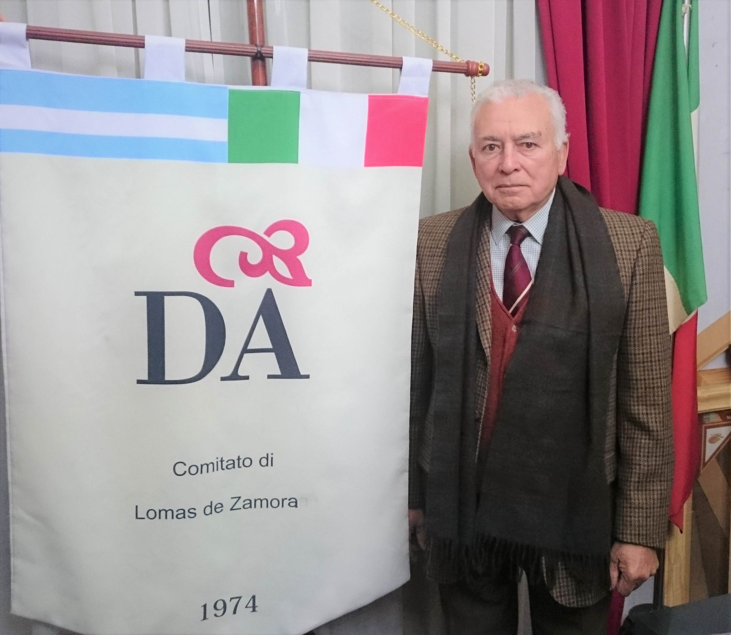 Entrevista a José María Ortega, Presidente de la Dante de Lomas.