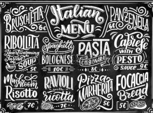 Italianismos En La Gastronomía