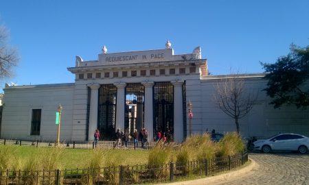Cimitero Di Recoleta - entrata