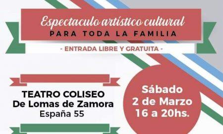 Espectáculo - Espectáculo Artístico En El Coliseo De Lomas De Zamora