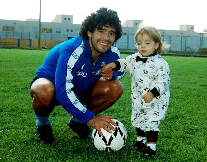 Maradona Con Dalma