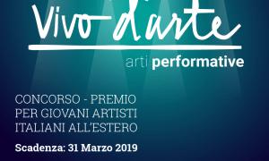 Premio Vivo D'Arte - Flyer Concurso Premio Vivo d'Arte