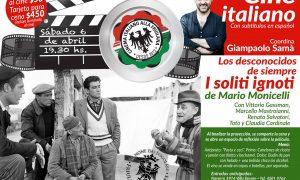 Cine Italiano - El próximo 6 de abril inicia un nuevo ciclo