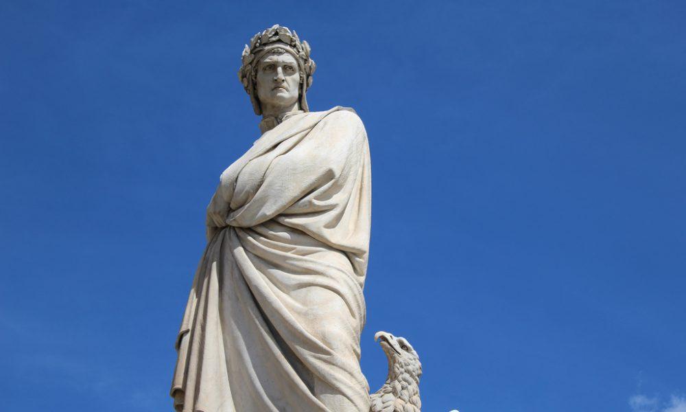 Maru Ceballos - Estatua de Dante Alighieri
