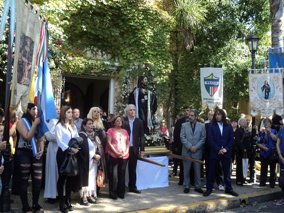 FACIA - La Federación siempre está presente en las fiestas patronales italianas