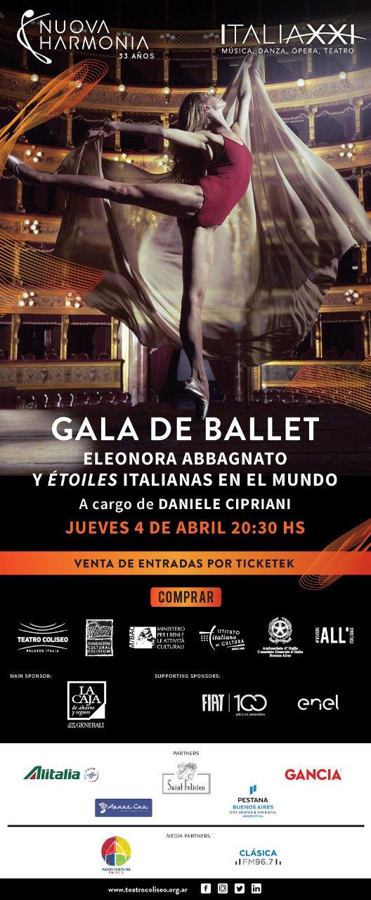 Gala de Ballet - Gala De Ballet en el Teatro Coliseo