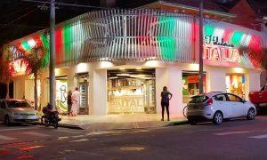 Heladeria Italia - La cadena hoy cuenta con 8 sucursales en Mar del Plata