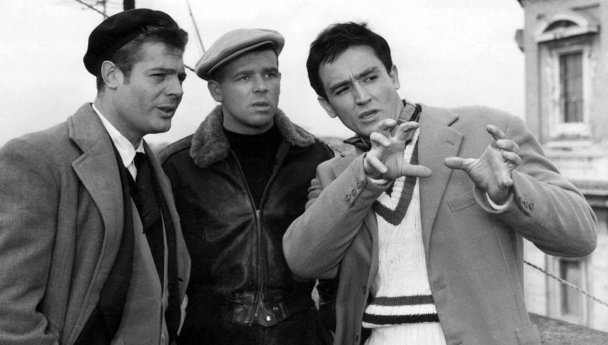 Cinema Italiano - I Soliti Ignoti fue protagonizada por Vittorio Gassman y Marcello Mastroianni.