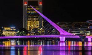 Puente De La Mujer - Luces De Noche