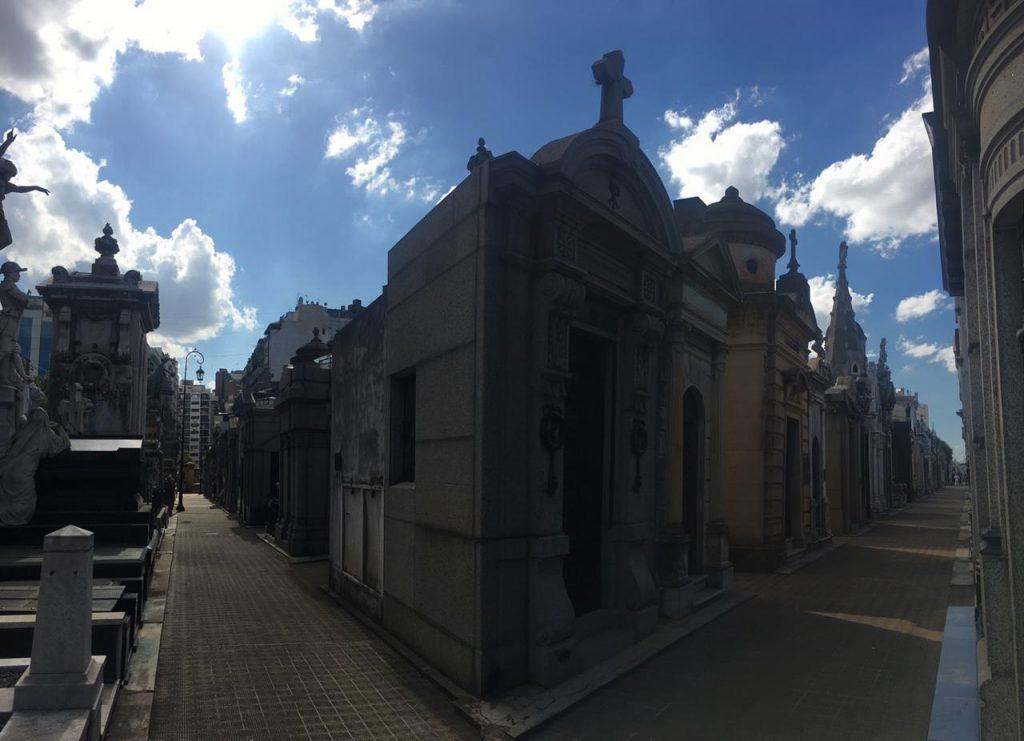 Cementerio de la Recoleta - Interior del Cementerio
