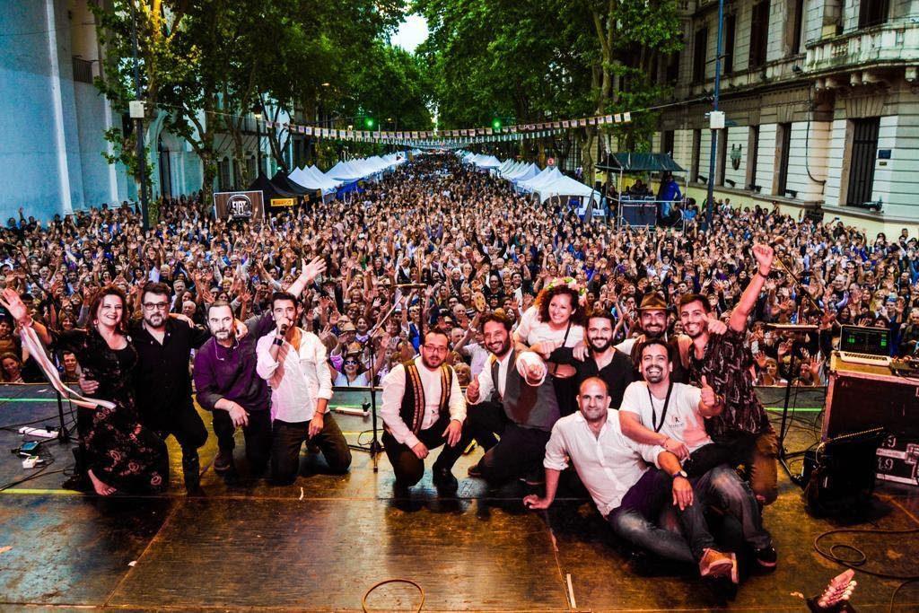 Marina Gabrieli - Durante el festival italiano en Buenos Aires