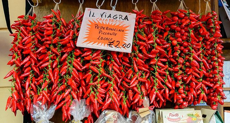 Buenos Aires Celebra Calabria - El peperoncino es considerado uno de los alimentos tradicionales de Calabria