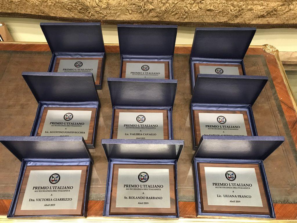 Premios A La Excelencia De La Italianidad - Premios A La Excelencia De La Italianidad