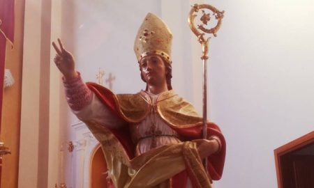 San Costantino - Patrono de la cómuna de San Costantino Calabro
