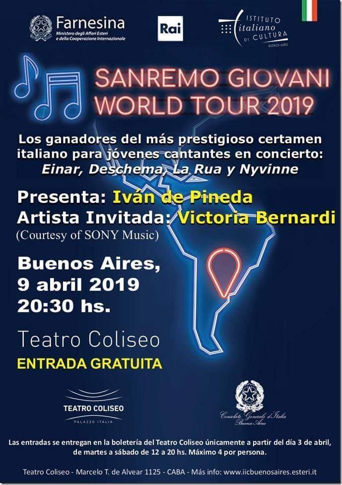 Sanremo Giovani World Tour - Sanremo Giovani World Tour 2019